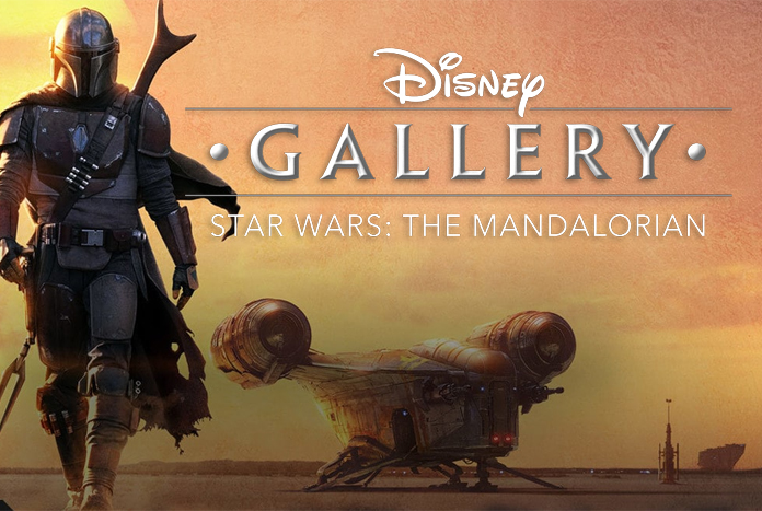 Poster for Disney Gallery: The Mandalorian series