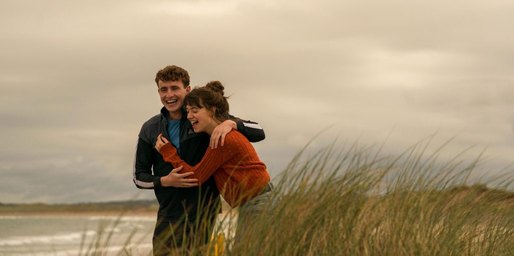 Normal People TV show image showing Paul Mescal and Daisy Edgar-Jones